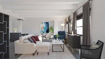 Online design Transitional Living Room by Lauren A. thumbnail