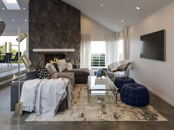 Online design Modern Combined Living/Dining by Tera S. thumbnail