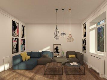 Online design Modern Hallway/Entry by Lidija P. thumbnail