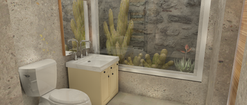Online design Contemporary Bathroom by Shanthi O. thumbnail