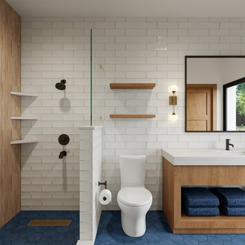 Online design Eclectic Bathroom by Selma A. thumbnail