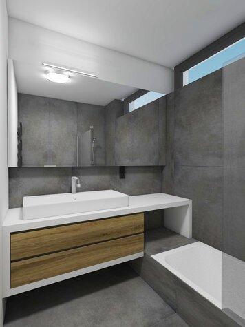 Online design Modern Bathroom by lila n. thumbnail