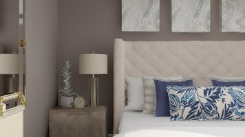 Online design Transitional Bedroom by Eda B. thumbnail