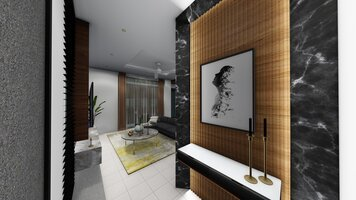 Online design Transitional Hallway/Entry by FatehahCheMat thumbnail