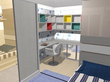 Online design Modern Kids Room by Yasmin C. thumbnail