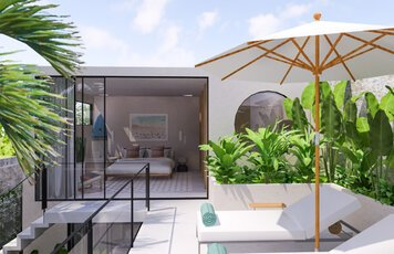 Online design Contemporary Patio by Drew F. thumbnail