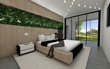 Online design Contemporary Bedroom by Gericel D. thumbnail