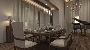 Online design Contemporary Dining Room by Aida A. thumbnail