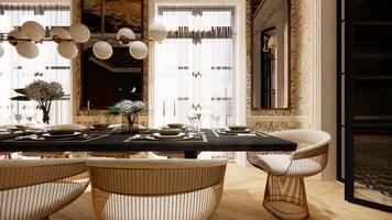 Online design Glamorous Dining Room by Matthew J. thumbnail