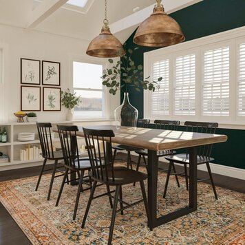 Online design Transitional Dining Room by Aimee M. thumbnail