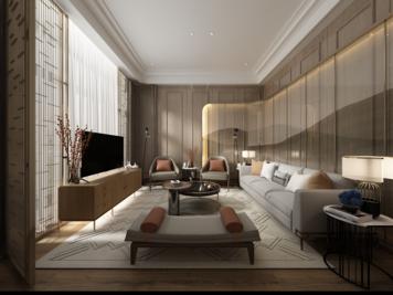Online design Modern Living Room by Atif N. thumbnail