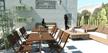 Online design Modern Patio by Amber R. thumbnail