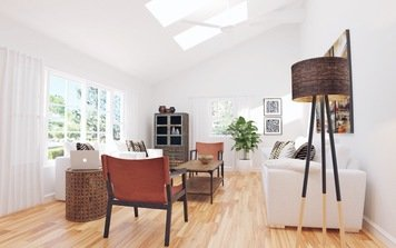Online design Eclectic Living Room by Jodi W. thumbnail