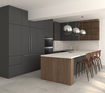 Online design Contemporary Kitchen by Jessica S. thumbnail