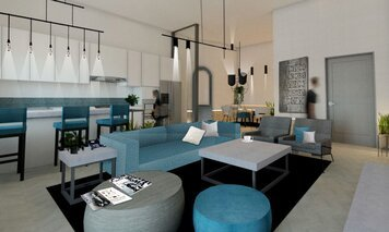 Online design Contemporary Living Room by Archie T. thumbnail