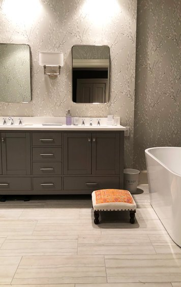 Online design Transitional Bathroom by Courtney B. thumbnail