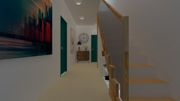 Online design Contemporary Hallway/Entry by Samantha W. thumbnail