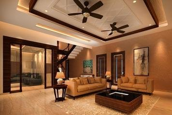 Online design Traditional Combined Living/Dining by Kiran K. thumbnail