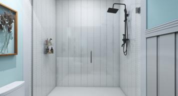 Online design Beach Bathroom by Gina A. thumbnail