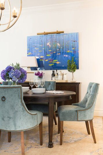 Online design Contemporary Dining Room by Lori D. thumbnail