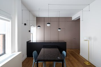 Online design Contemporary Combined Living/Dining by Sara M. thumbnail