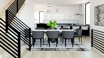 Online design Modern Dining Room by MaryBeth C. thumbnail