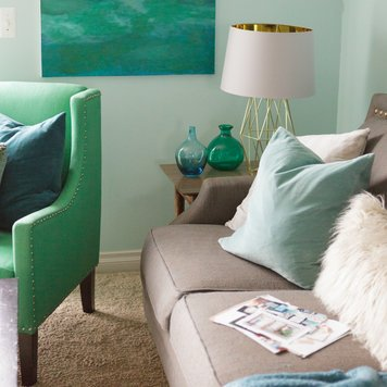 Online design Beach Living Room by Nathalie A. thumbnail