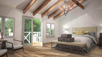 Online design Country/Cottage Bedroom by Hannah C. thumbnail