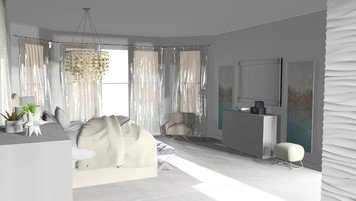 Online design Transitional Bedroom by Debbie O. thumbnail