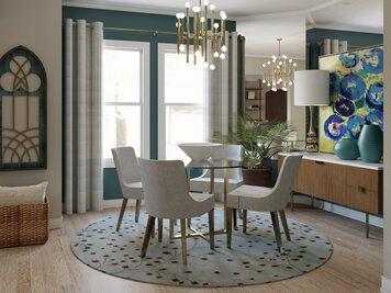Online design Glamorous Dining Room by Lynda N thumbnail