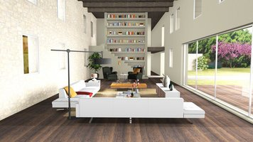 Online design Country/Cottage Living Room by Ilaria C. thumbnail