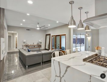 Online design Contemporary Combined Living/Dining by Holly M. thumbnail