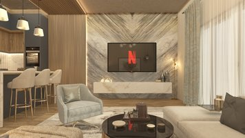 Online design Modern Living Room by Salma o. thumbnail