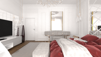 Online design Contemporary Bedroom by Rana S. thumbnail