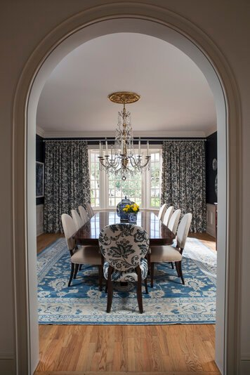 Online design Transitional Dining Room by Lori D. thumbnail