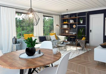 Online design Eclectic Living Room by Francis D. thumbnail