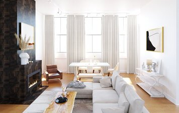 Online design Contemporary Living Room by Kristina B. thumbnail