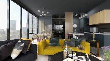 Online design Modern Living Room by KaSonndra L. thumbnail