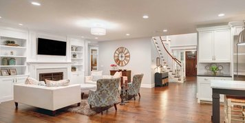 Online design Transitional Combined Living/Dining by Nathalie A. thumbnail