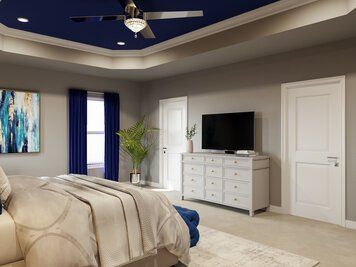 Online design Glamorous Bedroom by Casey H. thumbnail