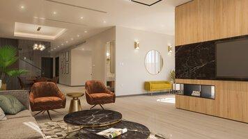 Online design Modern Living Room by Sophio J. thumbnail