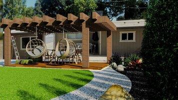 Online design Modern Patio by Yasmin C. thumbnail