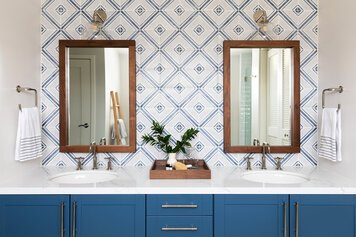 Online design Contemporary Bathroom by Caity H. thumbnail