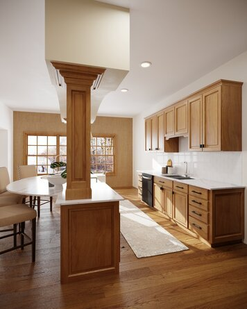 Online design Transitional Kitchen by Drew F. thumbnail