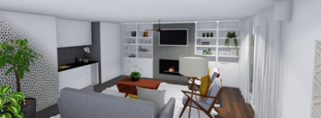 Online design Eclectic Living Room by Monica F. thumbnail