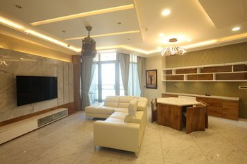 Online design Modern Combined Living/Dining by Anup T. thumbnail
