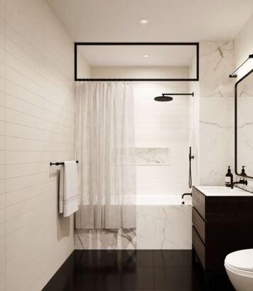 Online design Modern Bathroom by Gabriela S. thumbnail