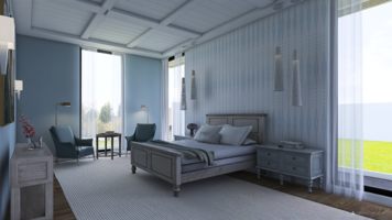 Online design Traditional Bedroom by Kristin W. thumbnail