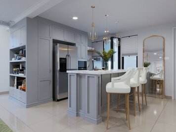 Online design Contemporary Kitchen by Aida A. thumbnail
