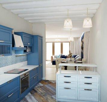 Online design Transitional Kitchen by Luba K. thumbnail